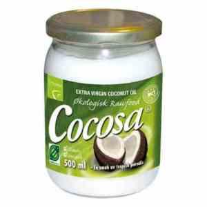 Les mer om Cocosa Extra Virgin Coconut Oil hos oss.