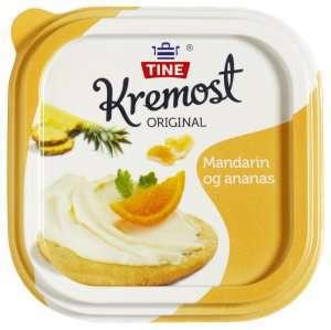 Prøv også Kremost ananas og mandarin.