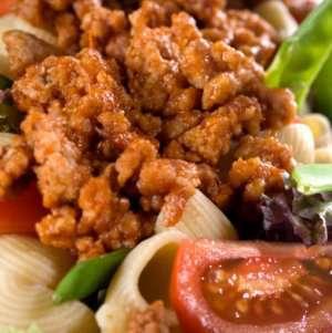 Prøv også Kjøttdeig av svin stekt uten fett.