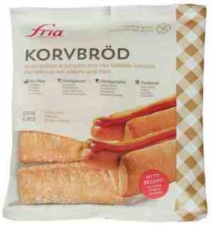 Prøv også Fria Korvbröd.