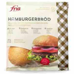 Prøv også Fria Hamburgerbröd.