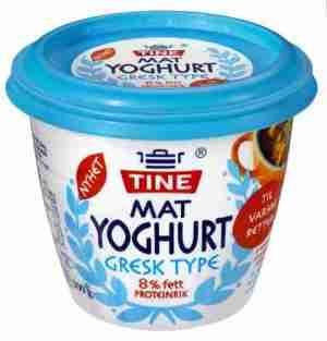 Prøv også Tine Matyoghurt Gresk Type.