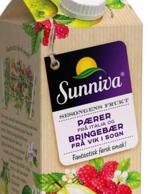 Prøv også Tine Sunniva Premium juice med Pære fra Italia.