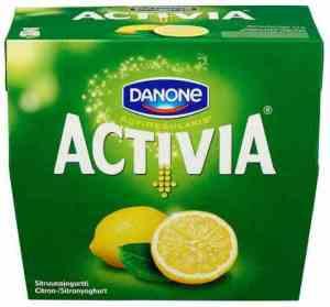 Prøv også Danone Activia yoghurt sitron.