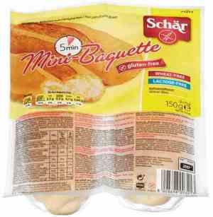 Prøv også DrSchär Mini Baguette.