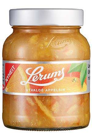 Prøv også Lerums Utvalde appelsinmarmelade.
