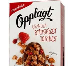 Prøv også Møllerens Opplagt Granola Jordbær & Bringebær.