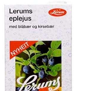 Prøv også Lerums eplejus med blåbær og kirsebær.