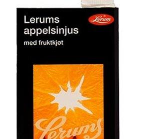 Prøv også Lerums appelsinjus med fruktkjøt.