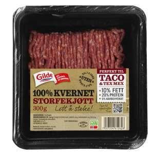 Prøv også Gilde 100% Kvernet Storfekjøtt 10%..