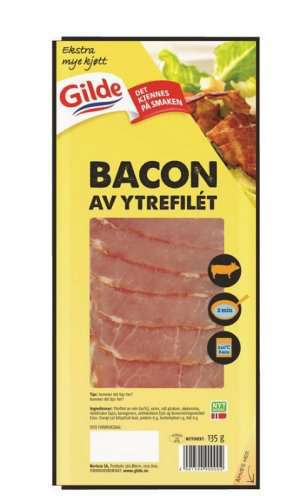 Prøv også Gilde bacon av ytrefilet.