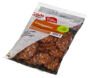 Prøv også Gilde chili spekepølse.
