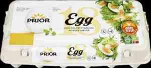 Prøv også Prior egg SM frittgående 18 stk.