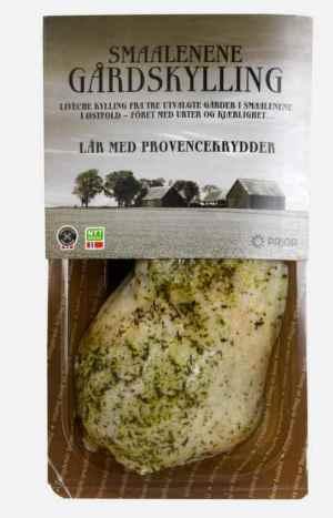 Prøv også Prior smaalenene gårdskylling lår provencekrydder.