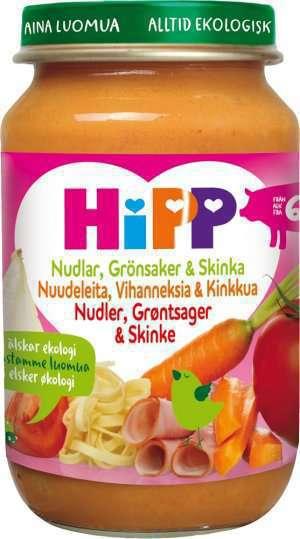 Prøv også Hipp Favorittnudler.