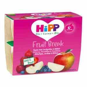 Prøv også Hipp Fruit break eple, jordbær.