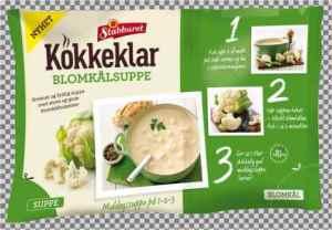 Prøv også Stabburet kokkeklar Blomkålsuppe.