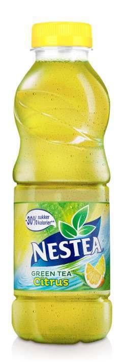 Prøv også Nestea Green tea citrus.