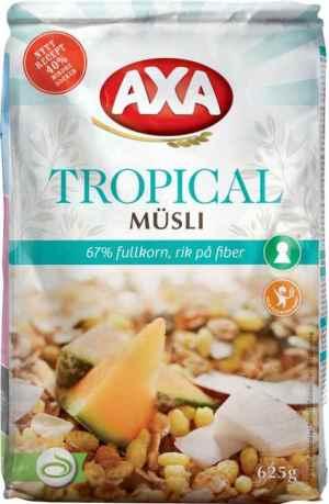 Prøv også Axa Tropical Musli.