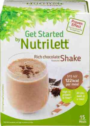 Prøv også Nutrilett Quick Weight loss Chocolate Shake.