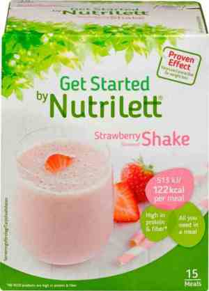 Prøv også Nutrilett Quick Weight loss Strawberry Shake.