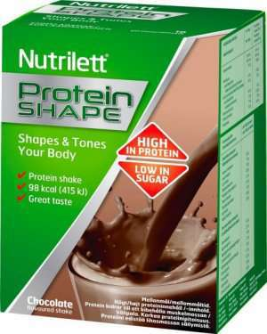 Prøv også Nutrilett Protein shape Chocolate flavoured shake.
