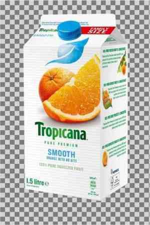 Prøv også Tropicana smooth style.