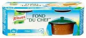 Prøv også Knorr fond du chef fisk konsentrat.