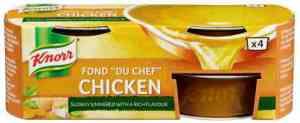 Prøv også Knorr fond du chef kylling konsentrat.