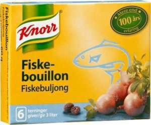 Les mer om Knorr fiskebuljong hos oss.