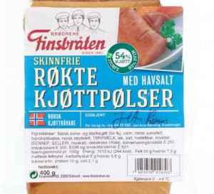 Prøv også Finsbråten røkte kjøttpølser med havsalt.
