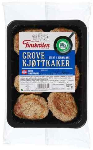 Prøv også Finsbråten grove kjøttkaker.