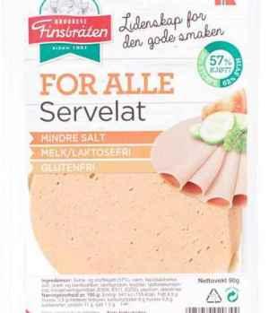 Prøv også Finsbråten for alle servelat.