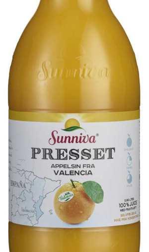 Prøv også Sunniva presset appelsin fra Valencia.