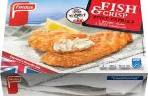 Prøv også Findus Fish & Crisp Spicy Paprika.