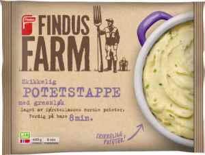 Prøv også Findus Farm Potetstappe med gressløk.
