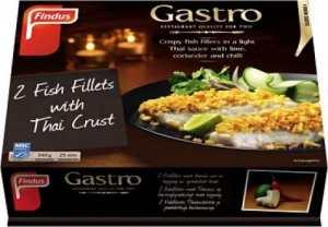 Prøv også Findus Gastro fiskefilet med thaisaus.