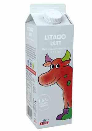Prøv også Tine Litago Lettere melk med jordbærsmak.