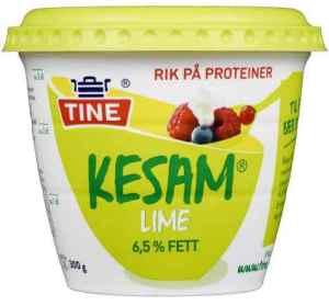 Prøv også Tine Kesam lime.