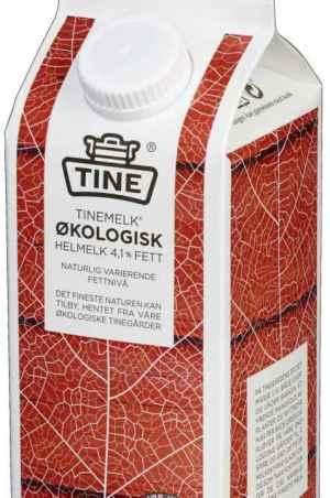 Prøv også Tine Økologisk Helmelk 4,1 % fett.