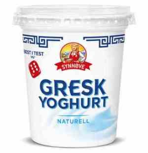 Prøv også Synnøve gresk yoghurt naturell.