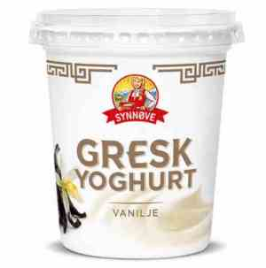 Prøv også Synnøve gresk yoghurt vanilje.