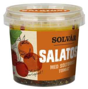 Prøv også Tine Solvår Salatost med soltørket tomat.