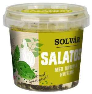 Prøv også Tine Solvår Salatost med urter og hvitløk.