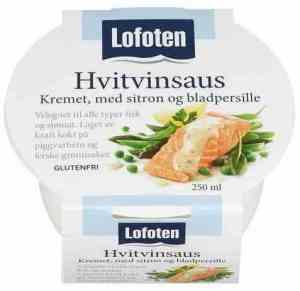 Prøv også Lofoten Hvitvinsaus – Kremet med sitron og bladpersille.