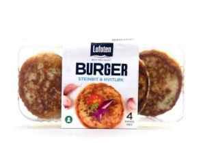 Prøv også Lofoten Fiskeburger med steinbit og hvitløk.