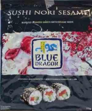 Prøv også Blue Dragon Sushi Nori sesam.