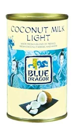 Prøv også Blue Dragon kokosmelk Mini lett.