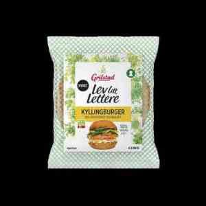 Prøv også Grilstad kyllingburger.