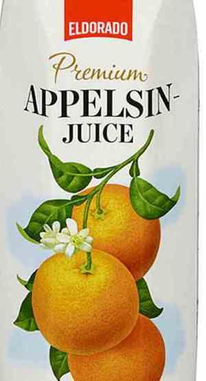 Prøv også Eldorado appelsinjuice Premium.